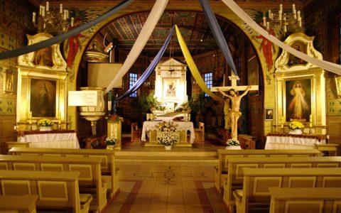 Wnętrze parafii